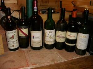 Weinkellerbesichtigung Andy Walker Mai 2007