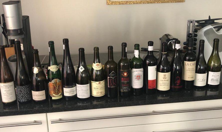 Weinverkostung in Kufstein