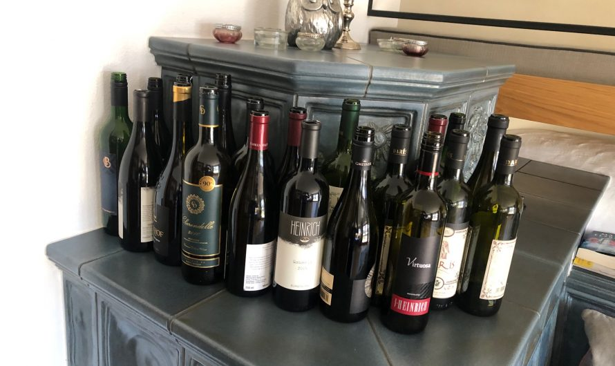 Weinverkostung Altherren-Runde bei Anita & Markus