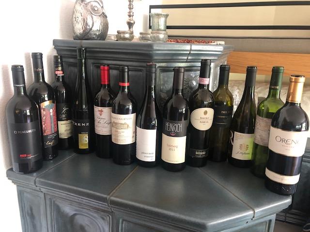 Weinverkostung Anita + Markus 25.09.2021